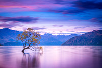 Sunset at Wanaka